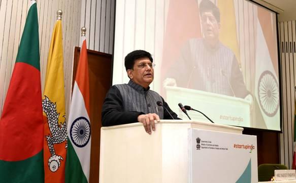 Shri Piyush Goyal inaugurates the 'Prarambh: Startup India International Summit'