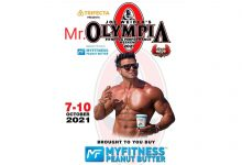 MyFitness Peanut Butter Associates with Mr. Olympia World Body Building Competition to Be Held In October 2021